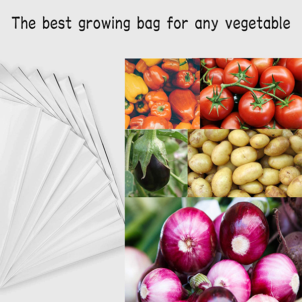 LDPE Poly Grow Bags For Plants (1 POLY GROW BAGS- 20*20*35 Cms)- Size 1