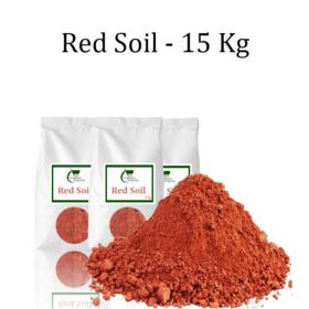 RED SOIL- 15 KGS - Gardenershopping