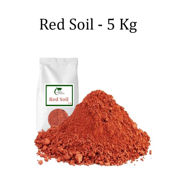 RED SOIL- 5 KGS - Gardenershopping