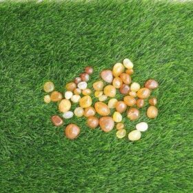Yellow Onyx Pebbles (Available in 1KG, 2Kg, 5 Kg. Click on image to buy  more qty for lesser price)